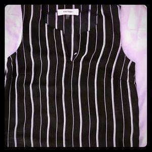 Black dress shirt, size xs